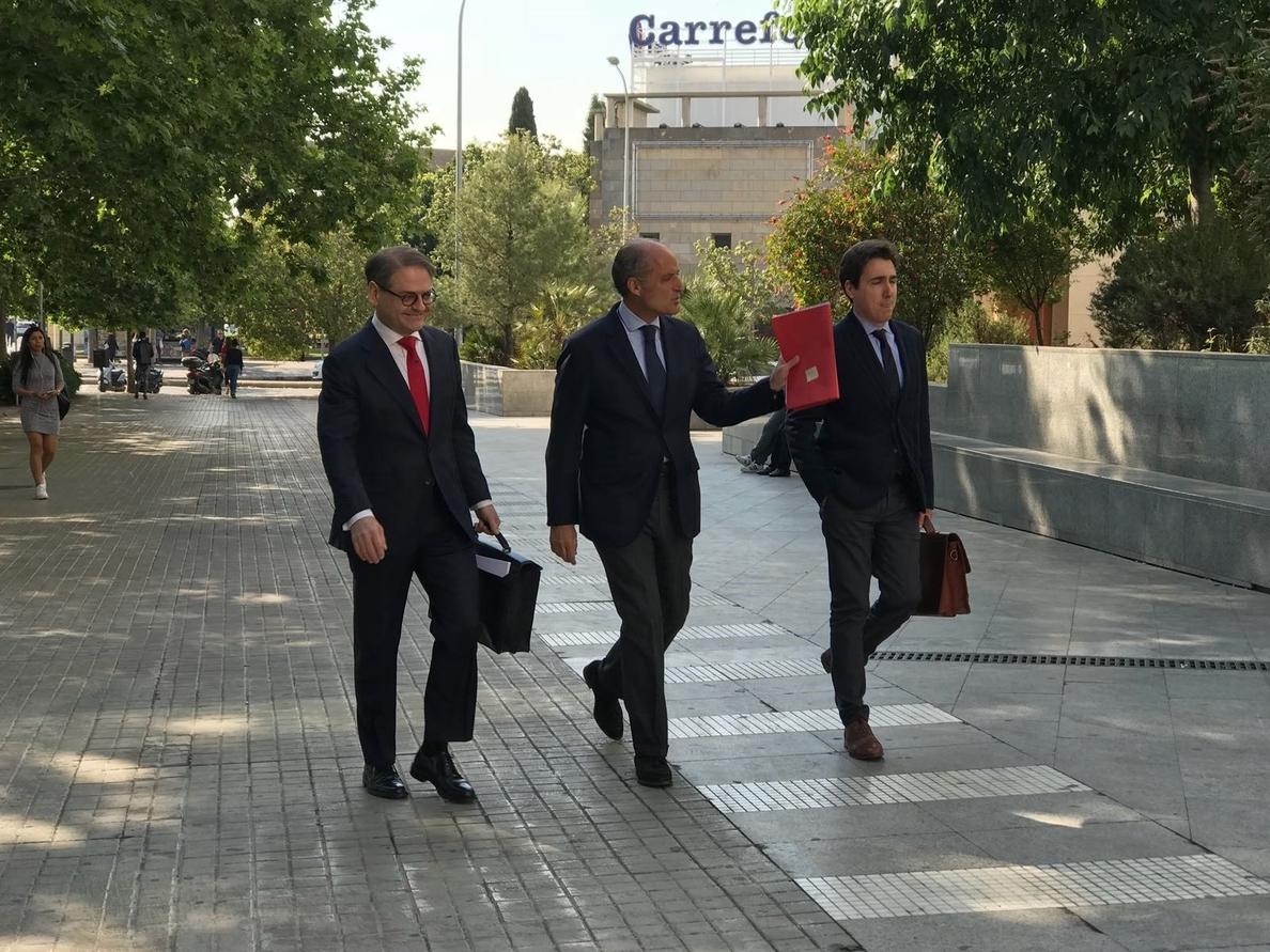 Camps ve una «causa política» en la F1: «Compromís es catalanista y la F1 le podía hacer daño a Cataluña»