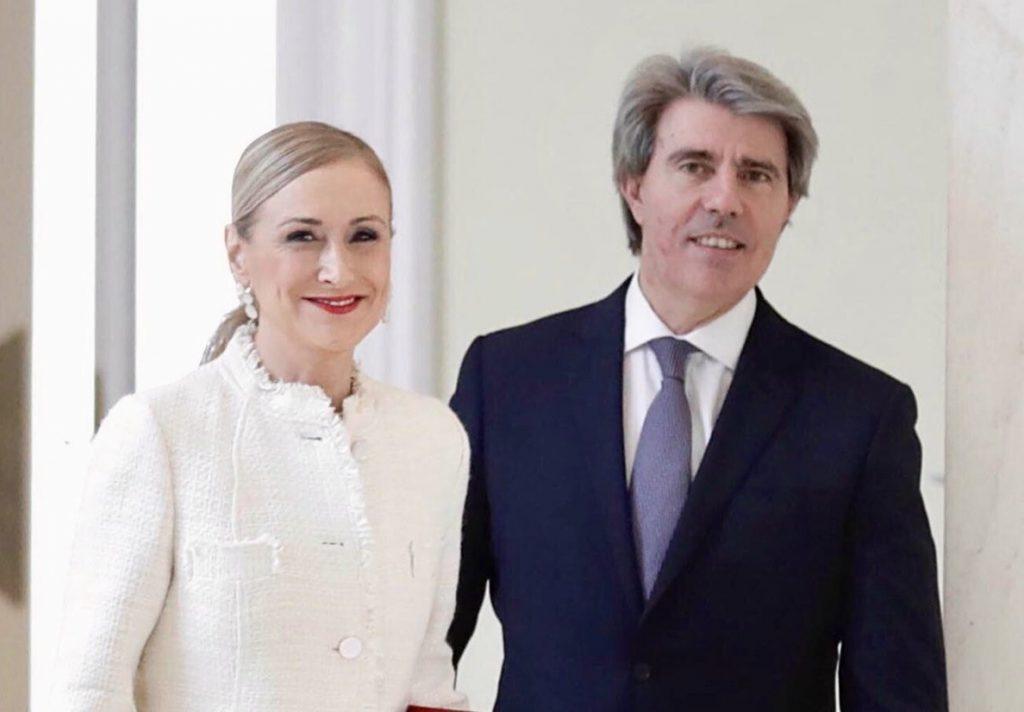 Cifuentes felicita por Twitter a Ángel Garrido: «Serás un gran presidente de la Comunidad de Madrid»
