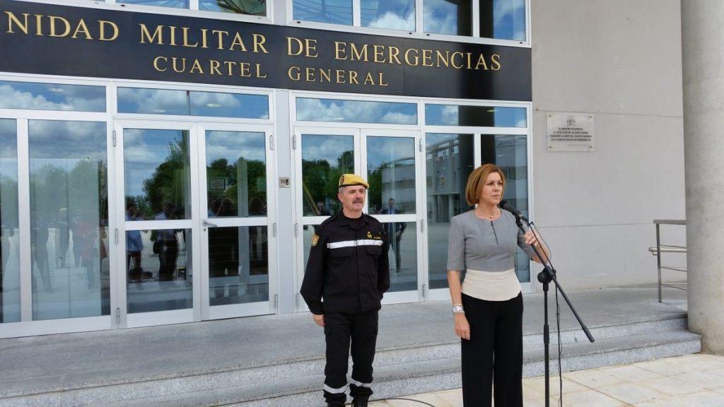 Cospedal traslada su pésame a la familia del soldado fallecido en Mali «defendiendo los intereses de España»