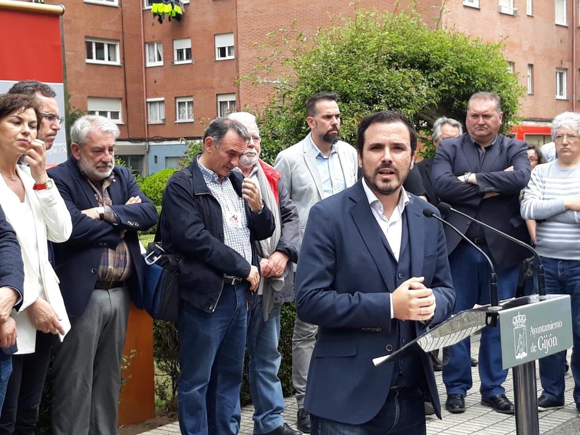 Garzón, sobre la compra del chalé por Iglesias y Montero: «No nos incumbe»