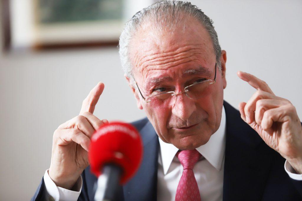 El alcalde de Málaga espera que Policía Nacional y Guardia Civil «paren los pies» al narcotráfico