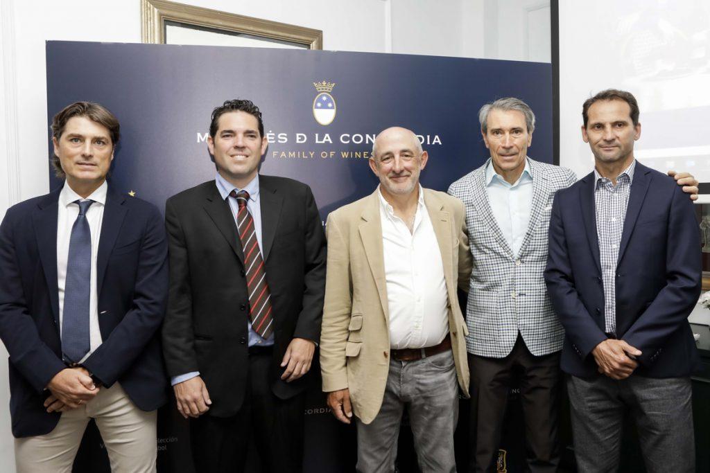 Marqués de la Concordia se convierte en la bodega oficial de la selección española de fútbol