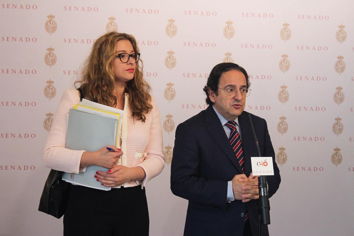 El PP asegura en el Senado que se conocerá una trama del PSPV que es «muchísimo más grave» que el caso Gürtel