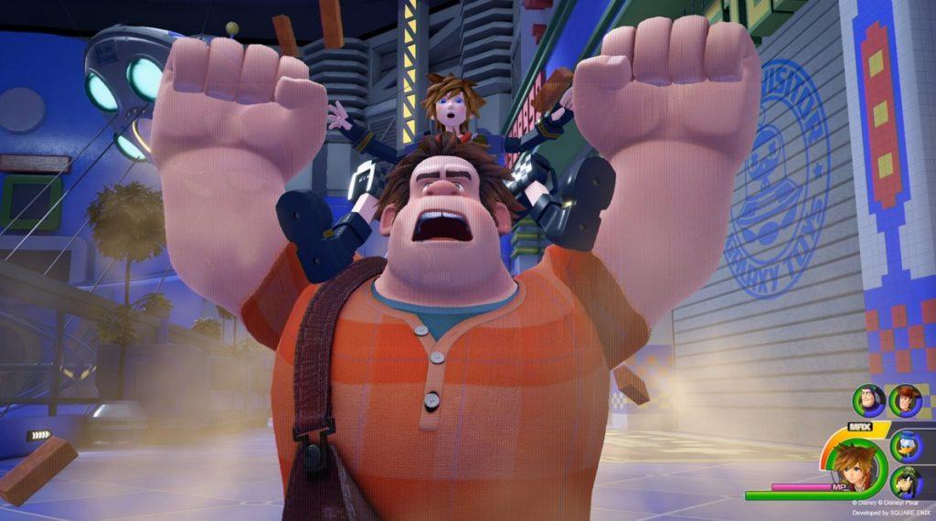 Square Enix presenta la llegada de Rompe Ralph a Kingdom Hearts 3