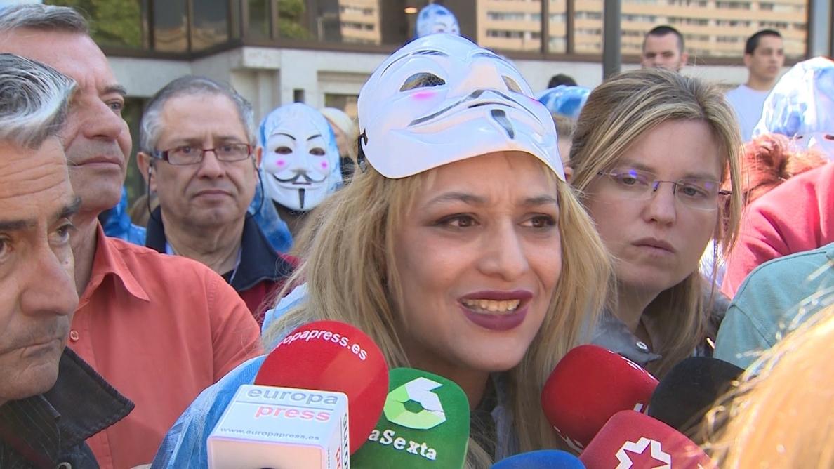 La jueza procesa a la líder neonazi del Hogar Social de Madrid por incitación al odio