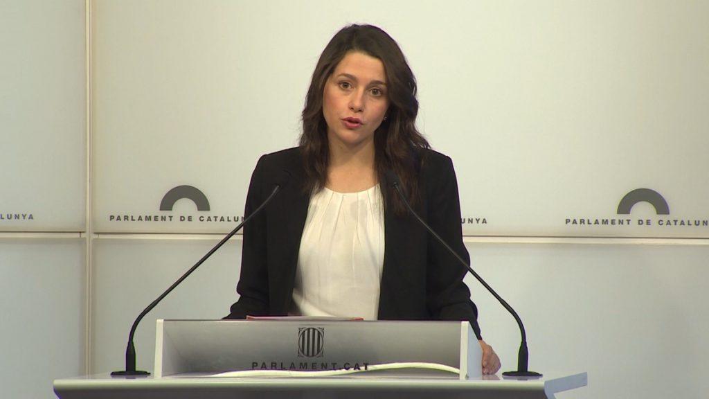 Arrimadas afirma que con el nuevo Govern «no se puede levantar el 155»