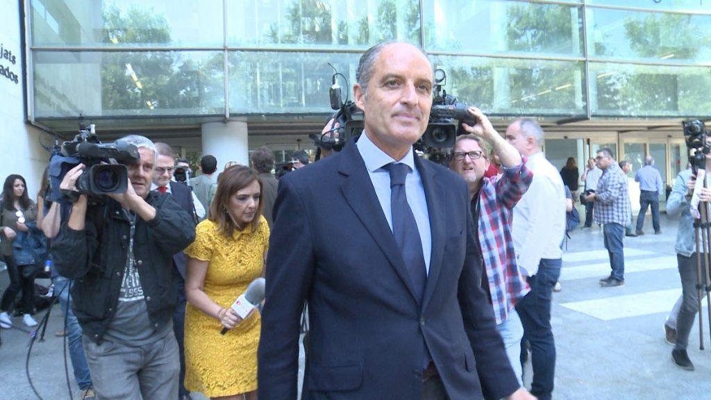 Camps afirma que «Olivas no fue inspirador» de la F1 y que la impulsaron desde «la Presidencia de Bancaja»
