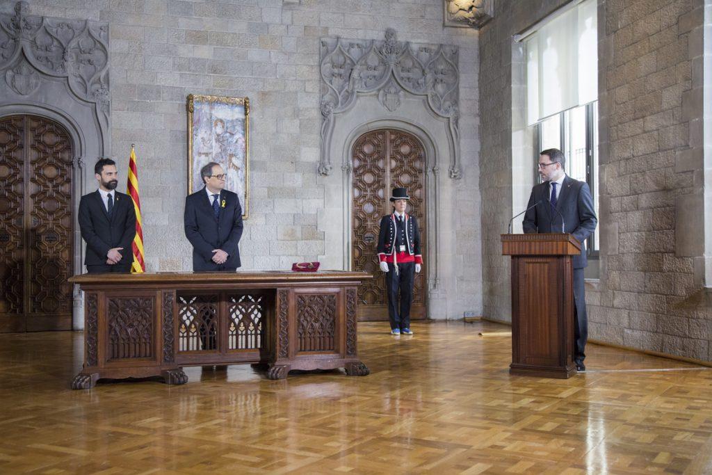 Torra nombra en su Govern a Aragonès, Artadi, Turull, Rull, Comín, Puig y Maragall