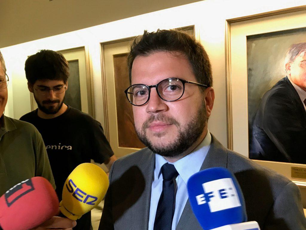 Pere Aragonès, de número dos de Economía a conseller y vicepresidente de la Generalitat