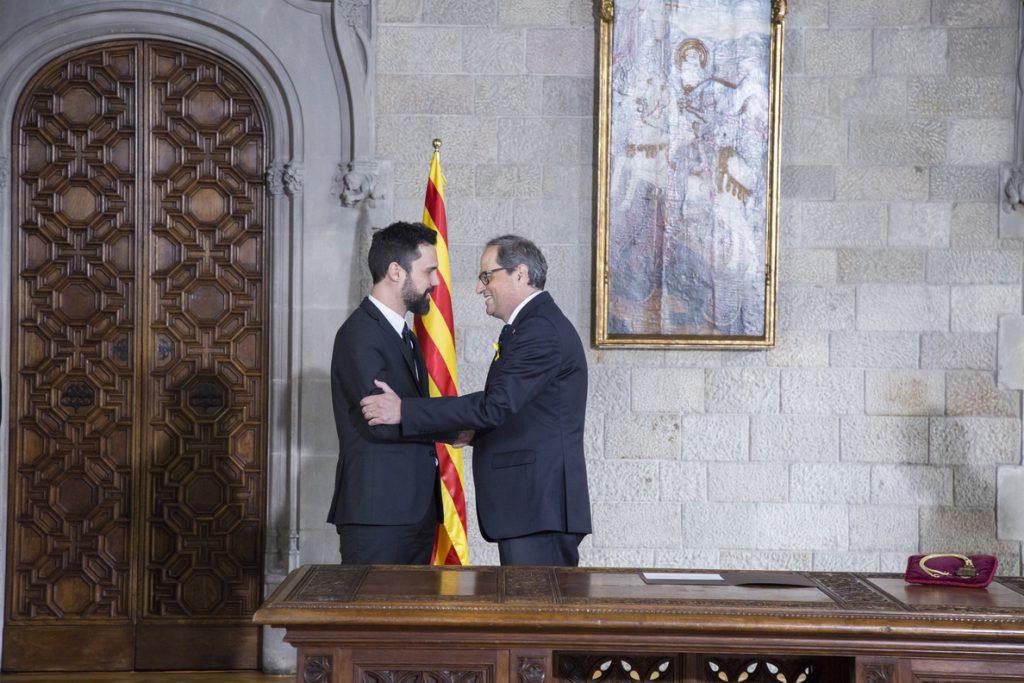 Rivera califica de «rebelde» el nuevo Gobierno nombrado por Torra y pide seguir aplicando el 155