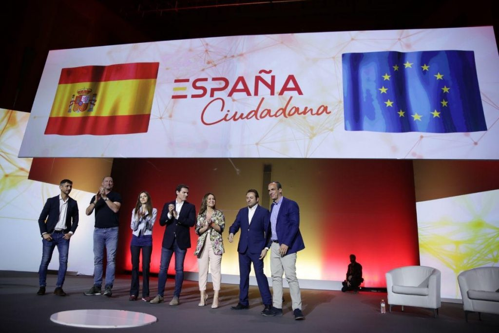 Ciudadanos lanza la plataforma civil España Ciudadana para recuperar «el orgullo de sentirse español»