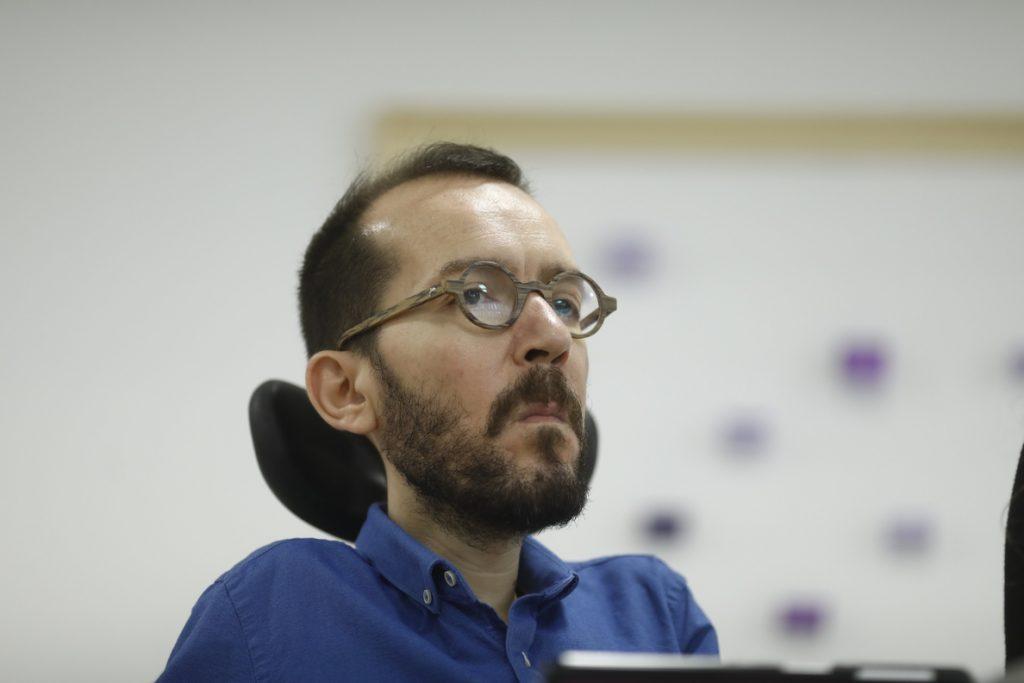 Echenique critica la plataforma España Ciudadana de Cs y asegura que mezcla las ideas de Trump, Aznar y Valls