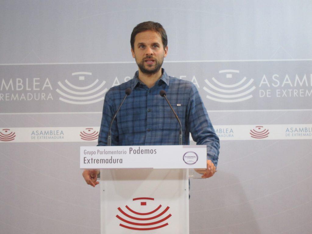 Líder Podemos Extremadura votará la continuidad de Iglesias y Montero
