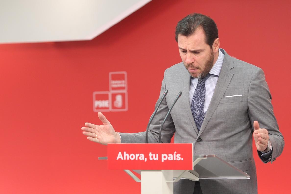 El PSOE lamenta que la defensa de la igualdad entre españoles que hace Ciudadanos se ciña al ámbito territorial