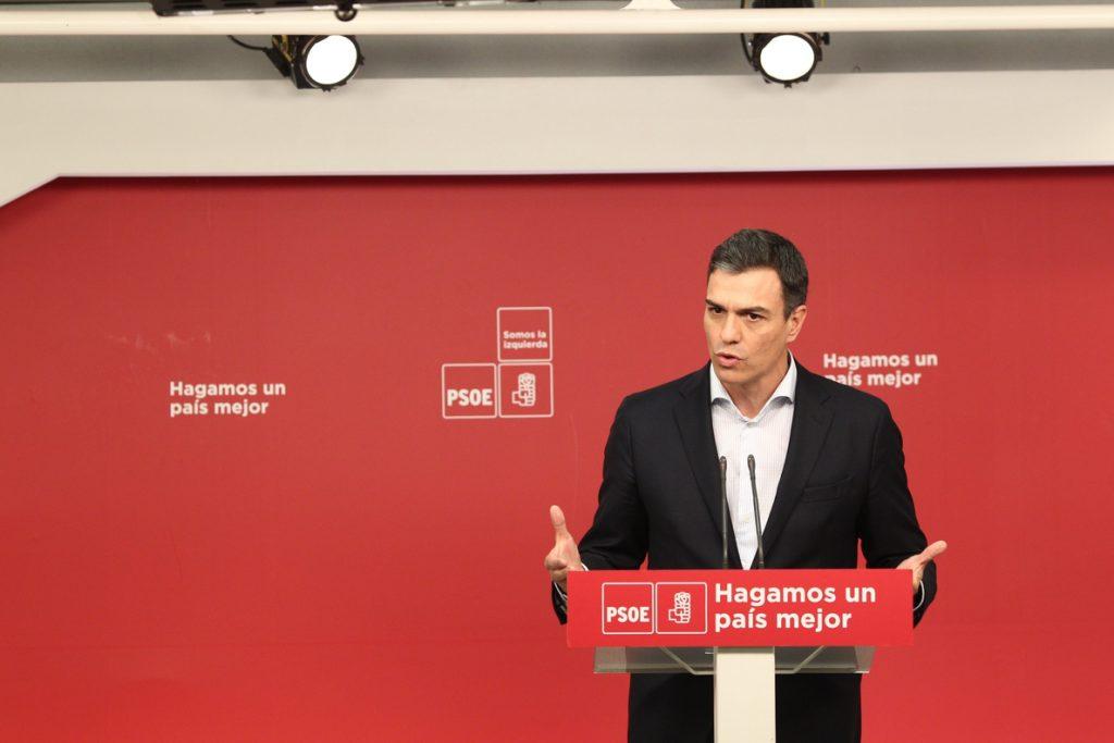 Pedro Sánchez aclara que su apoyo a Rajoy se limita a las cuestiones de Estado y no se extiende a los Presupuestos