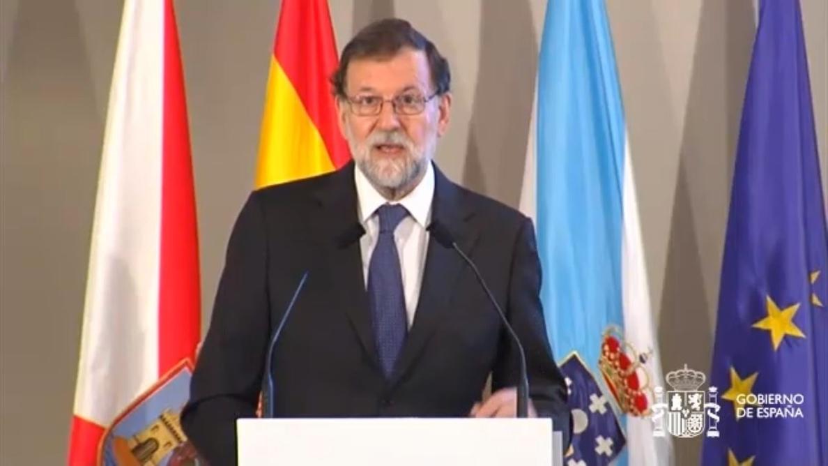 Rajoy confía en la «responsabilidad» de los partidos para aprobar los Presupuestos de 2018