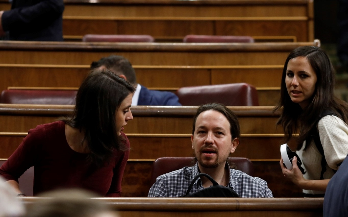 Belarra (Podemos) dice que le da «pena» que haya compañeros dentro de su partido que «critiquen» a Iglesias y Montero