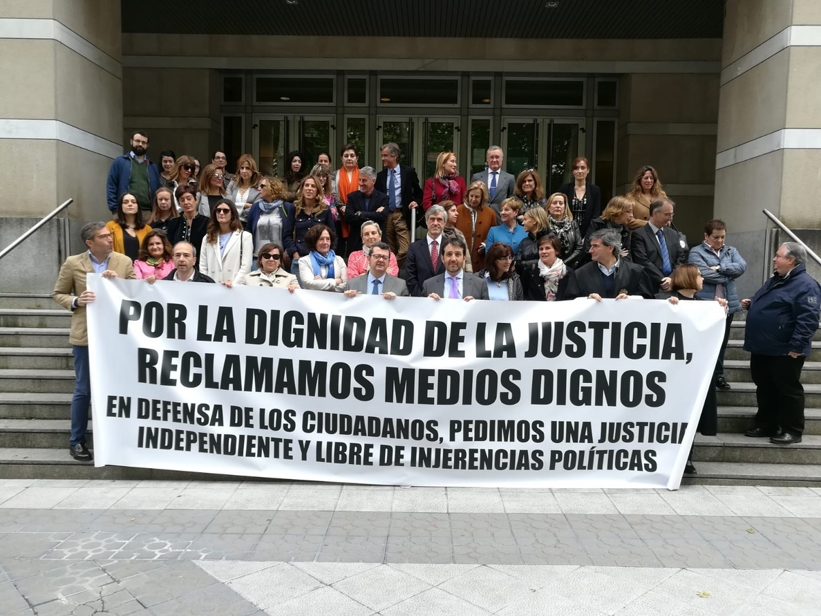 El juez decano de Bilbao cree que el Ministerio de Justicia y el CGPJ «han ninguneado» a los jueces en sus demandas