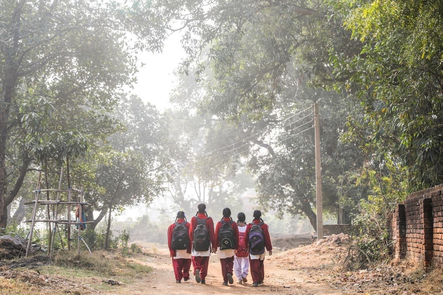 Un tercio de las mujeres del sur de Asia dejan de ir a la escuela cuando tienen la menstruación