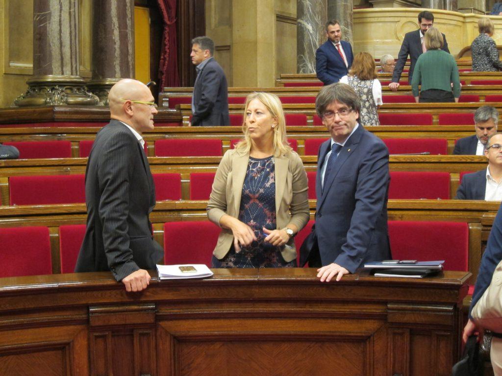 Munté, Puigdemont y Mercè Homs abordan el miércoles en Berlín la candidatura del PDeCAT en Barcelona