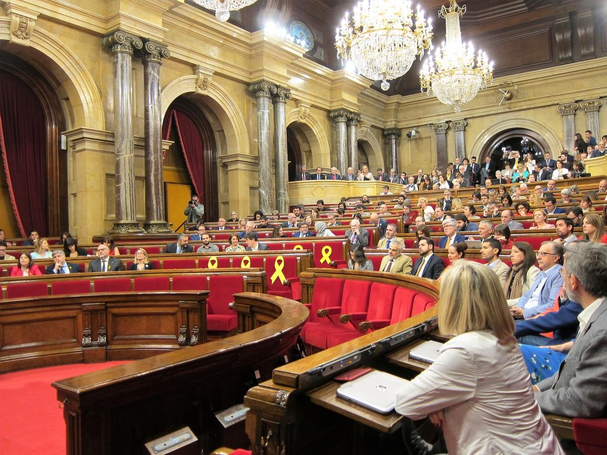 El Parlamento catalán no celebrará pleno este miércoles por la controversia sobre el Govern de Torra