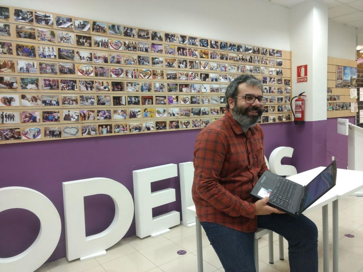 Podemos Asturias dice que la consulta no era necesaria «porque nadie cuestiona el liderazgo» de Iglesias y Montero