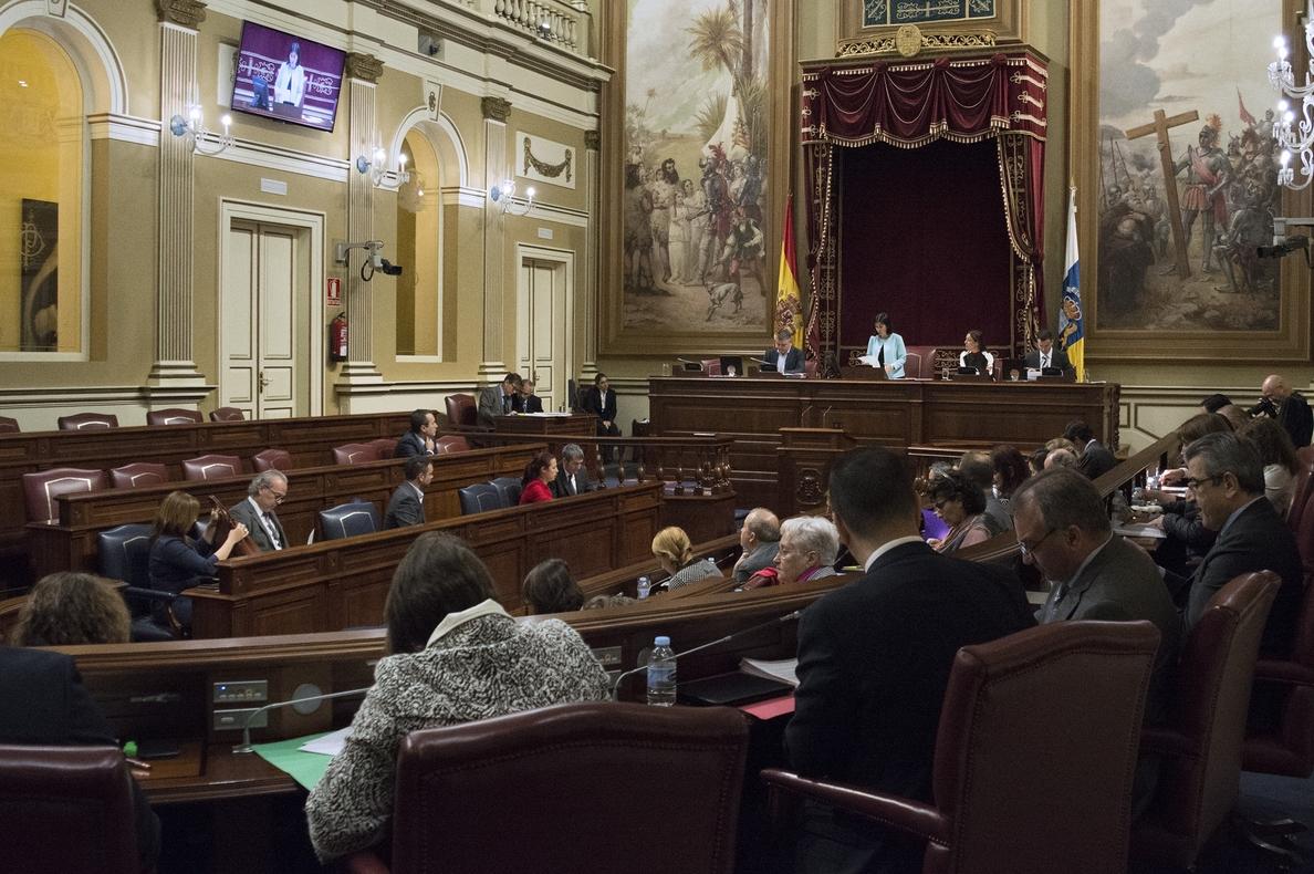 AMP-Parlamento canario, sin apoyo de CC y ASG, aprueba la propuesta de reforma electoral con lista regional y 70 escaños