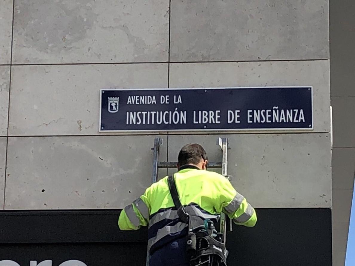 Ayuntamiento de Madrid recurrirá la anulación del cambio de nombre de la calle Hermanos García Noblejas