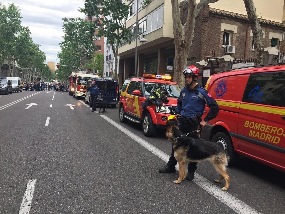 La Fiscalía de Madrid investigará el derrumbe del edificio en el que se encuentran atrapados dos obreros