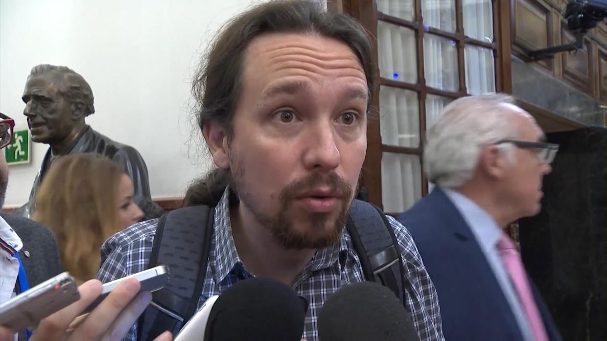 Iglesias dice que si el PNV apoya los Presupuestos de Rajoy, hará «un daño enorme» a la «dignidad» de los vascos