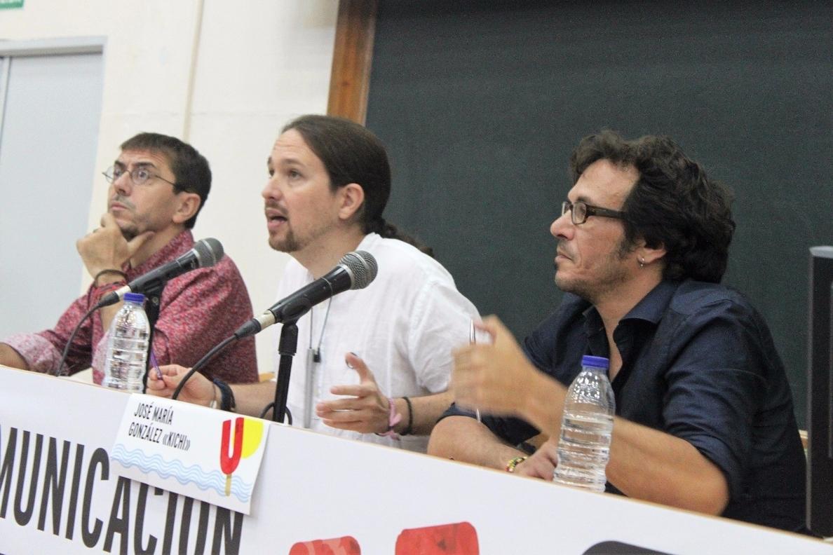 Pablo Iglesias recuerda a »Kichi» sus contradicciones y que él le apoyó aunque tuviera «dudas de su comportamiento»