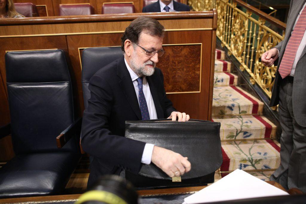 Rajoy hablará con la oposición para celebrar el Debate del Estado de la Nación en junio