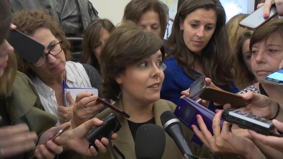 Santamaría dice que Torra «sabe lo que hay que hacer» para «poner fin» al 155: «Está en sus manos»