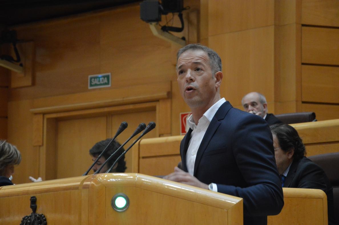 Ander Gil llama a «evitar la tentación del electoralismo» con el debate territorial