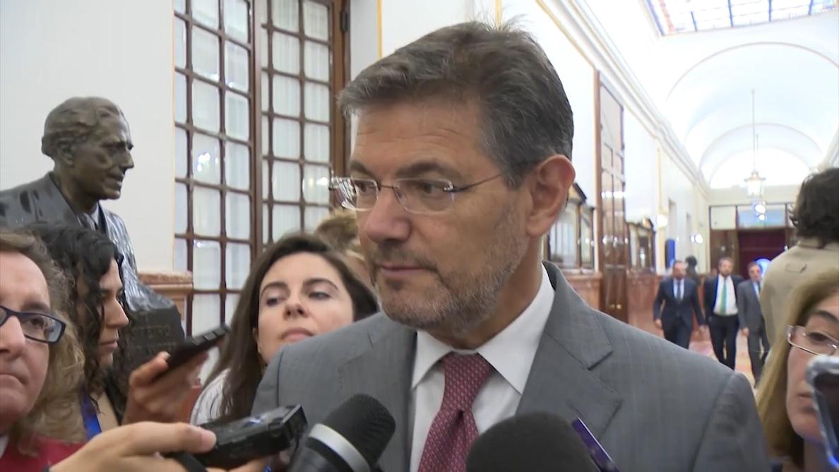 Catalá confía en que el procedimiento de euroorden de detención «funcione con normalidad» en el caso de Valtonyc