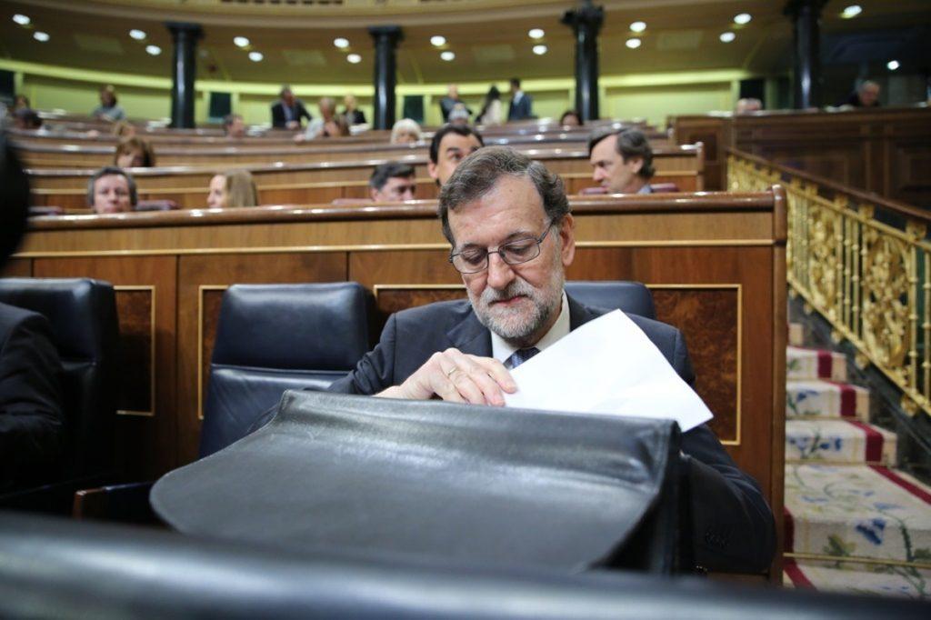 ERC se une a PDeCAT y Compromís para exigir que Rajoy comparezca ante el Pleno del Congreso