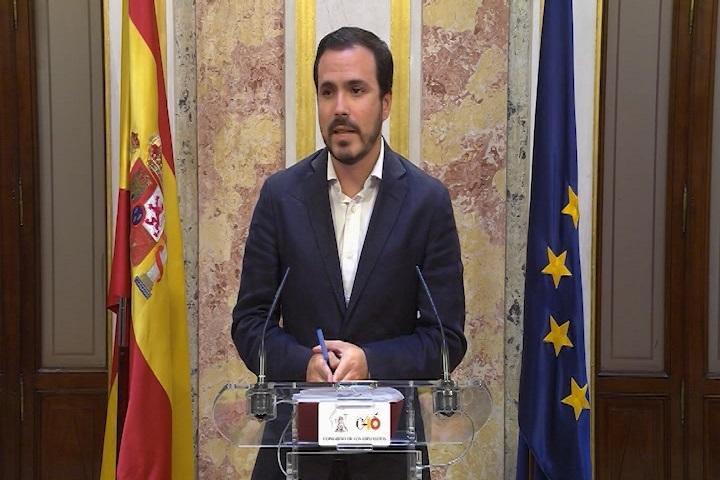 Garzón exige la dimisión «inmediata» de Rajoy por «un mínimo de dignidad democrática»
