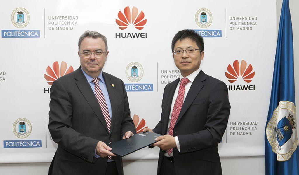 Huawei España y la UPM crean una cátedra de empresa centrada en el 5G