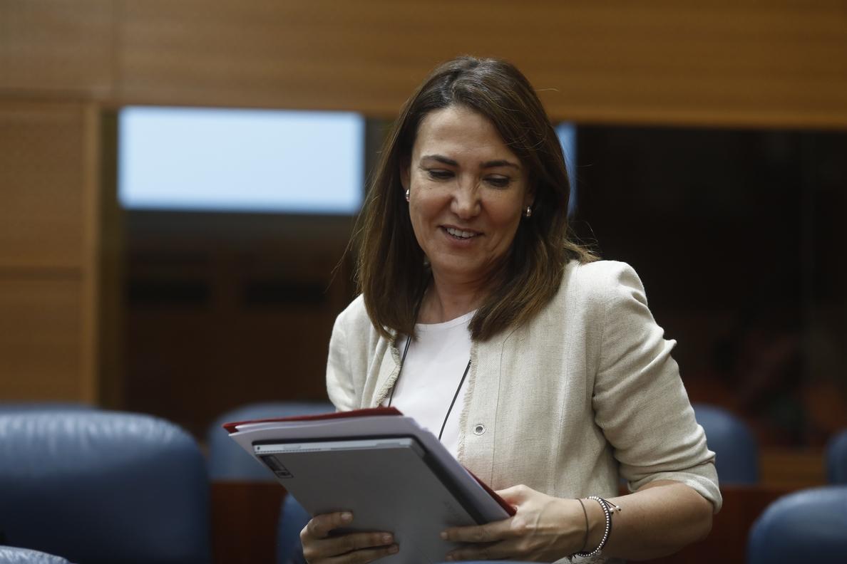 La hermana de Ignacio González deja de ser portavoz adjunta en la Asamblea de Madrid