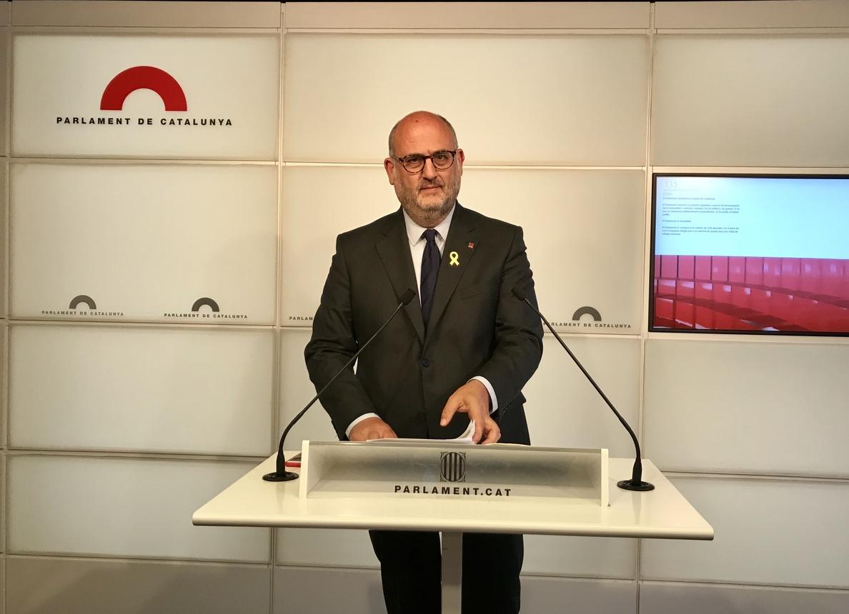 JxCat afirma que el PP ya es «organización criminal» y pide la dimisión de Rajoy