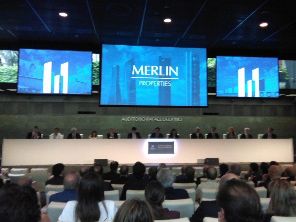 Merlín reparte mañana 0,26 euros por acción a sus accionistas