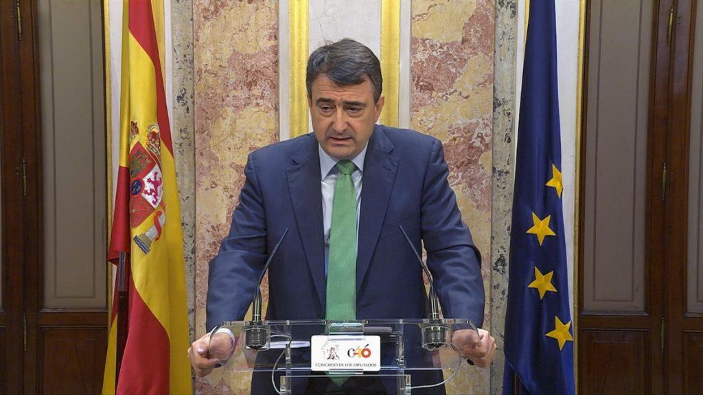 El PNV ve demostrado que el PP tiene «un gravísimo problema de corrupción» y apoyará que Rajoy vaya al Congreso