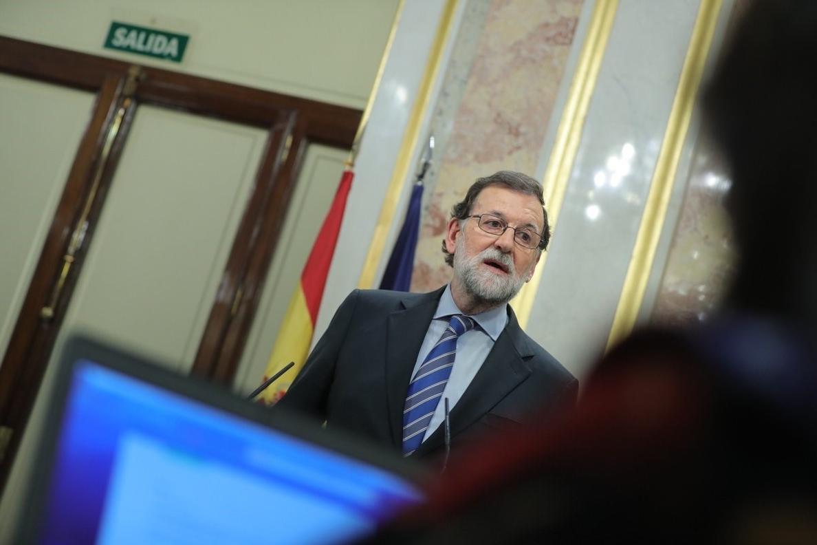 Rajoy, sobre el chalé de Pablo Iglesias: «Al final cuando se hace demagogia, pasa lo que estamos viendo»