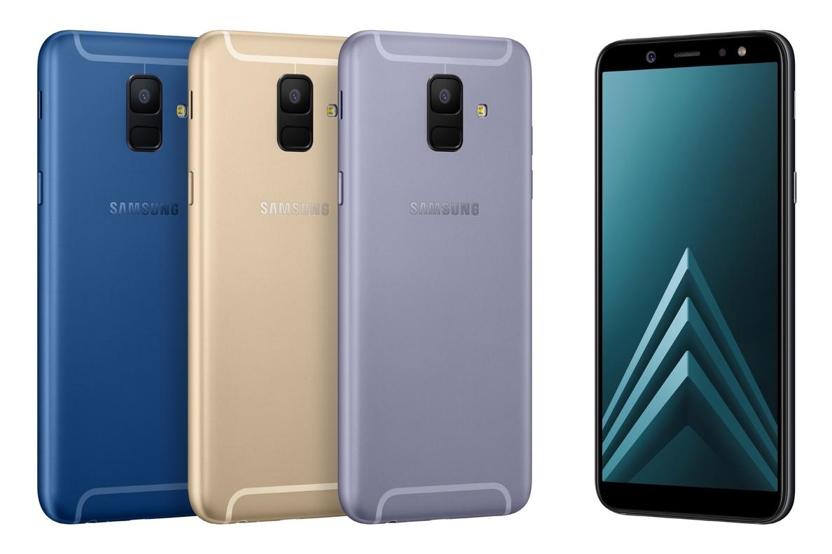 Samsung presenta en España los »smartphones» Samsung A6 y A6+, con pantalla infinita y cámara avanzada