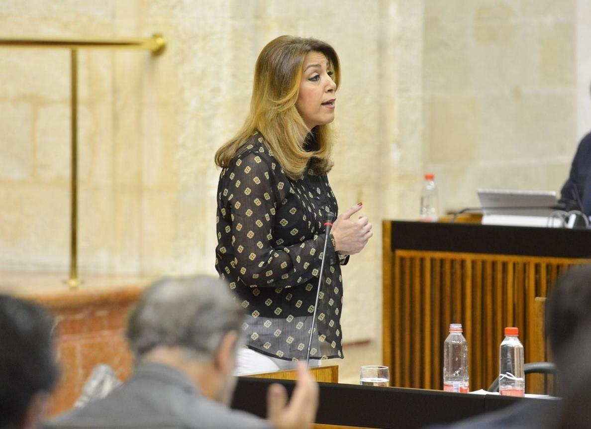 Susana Díaz acusa a Rajoy de incumplir palabra que le dio: ni reforma de la financiación ni más inversiones en Andalucía