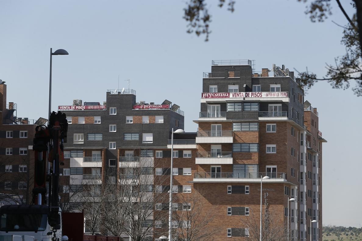 El precio medio de la vivienda libre creció un 2,7% en el primer trimestre, según Fomento