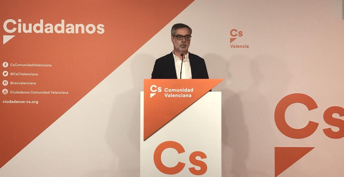 Ciudadanos no apoyará la moción de Sánchez y pide elecciones anticipadas o una moción de censura para convocarlas