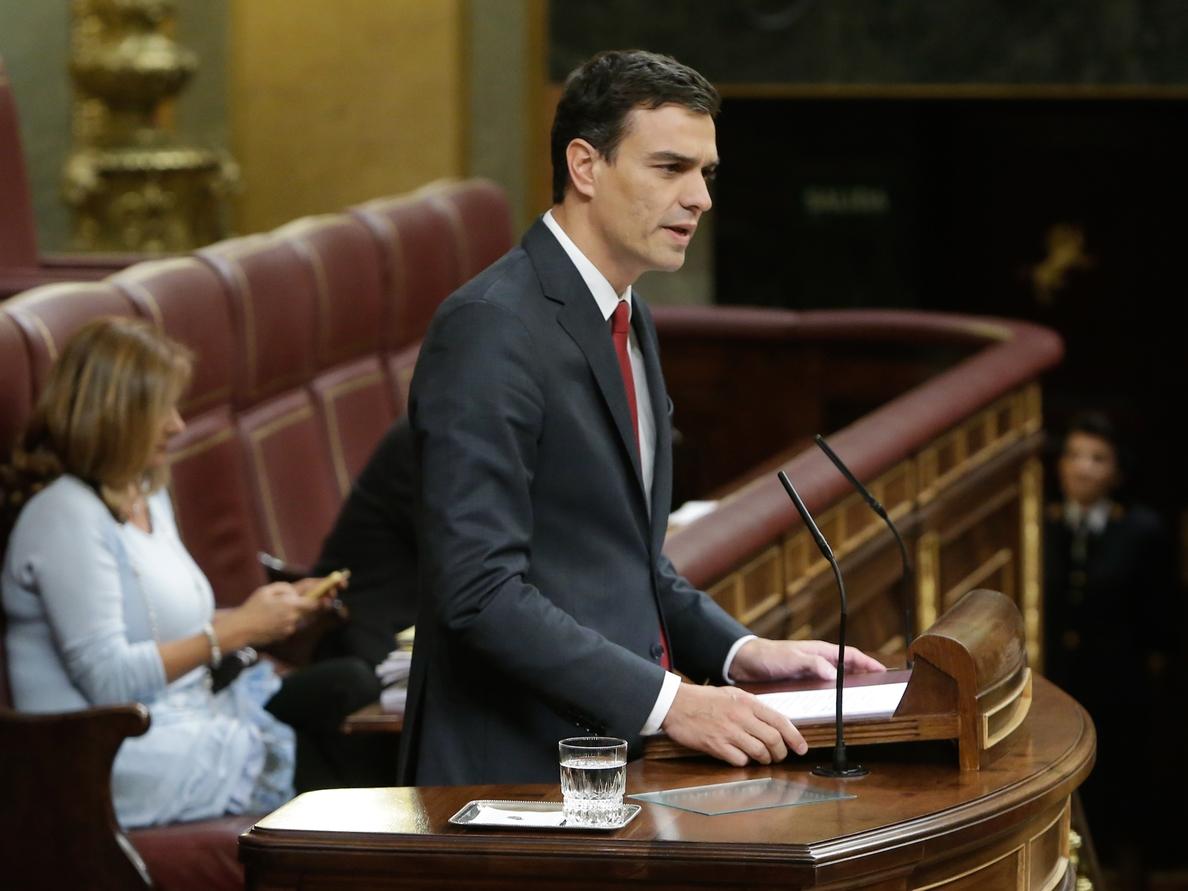 La Mesa del Congreso calificará el martes la moción de censura y dará plazo por si optan más candidatos