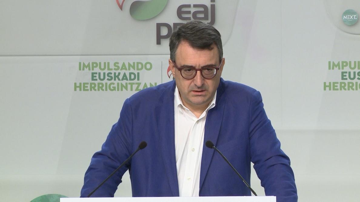 PNV, dispuesto a «hablar» con PSOE de la moción de censura para saber su «planteamiento respecto a Euskadi y Cataluña»