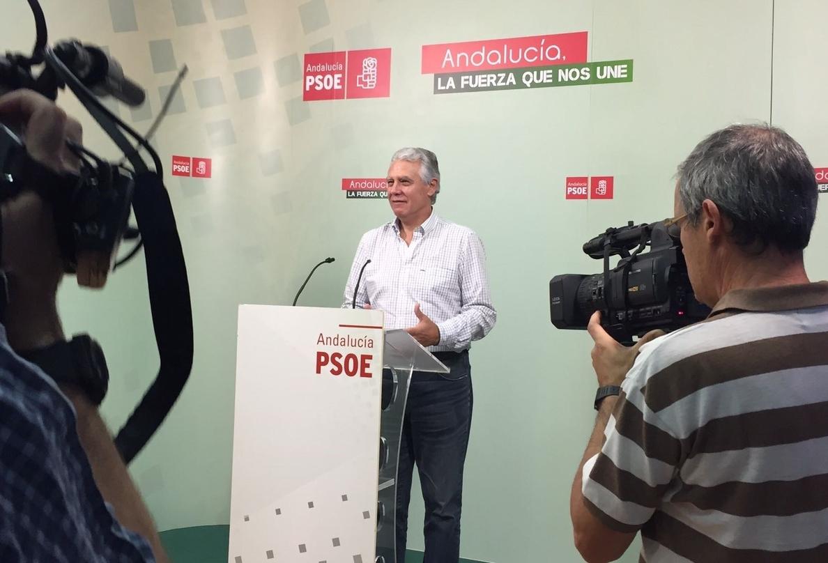 PSOE-A volverá a defender en Senado las enmiendas por valor de 1.565 millones que Rajoy ha «tirado a la papelera»
